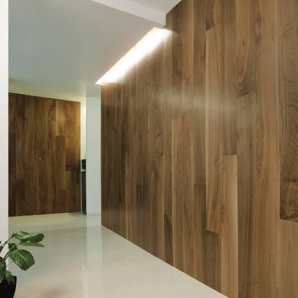 wooden boiserie
